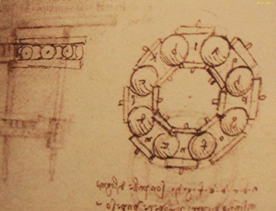 Пятничный пост-9. Изобретения в замке Леонардо да Винчи. Шарикоподшипник